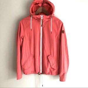 Timberland Pink Packable Rain Coat Jacket